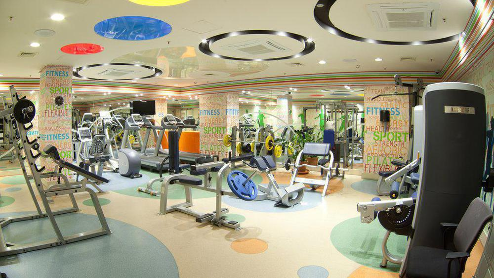Спорт зал гостиницы-фото